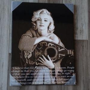 Milton Greene Marilyn Monroe with Mandolin Print